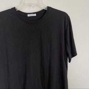GUSTIN Short Sleeve Grey Tee T Shirt